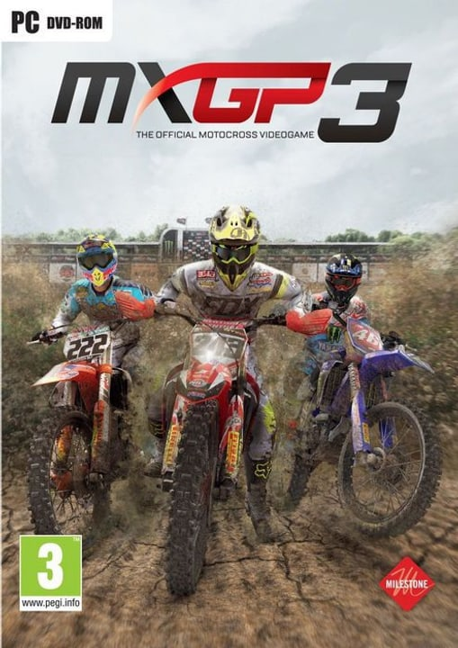 PC - MXGP 3 - The Official Motocross Videogame Box 785300122202 Photo no. 1
