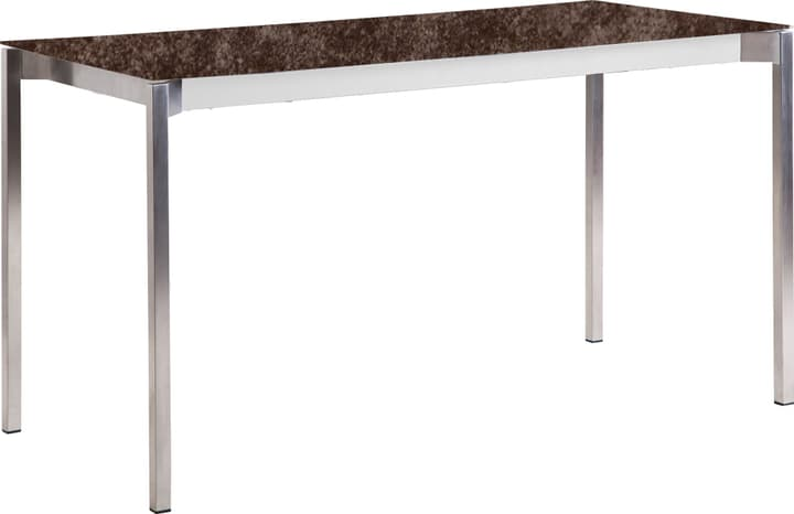MALO Table au jardin 408039914003 Dimensions L: 140.0 cm x P: 80.0 cm x H: 75.0 cm Couleur Iron Bronze Photo no. 1