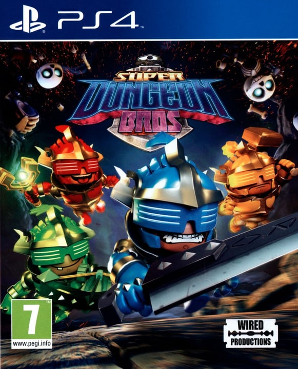 PS4 - Super Dungeon Bros. 785300121860 N. figura 1
