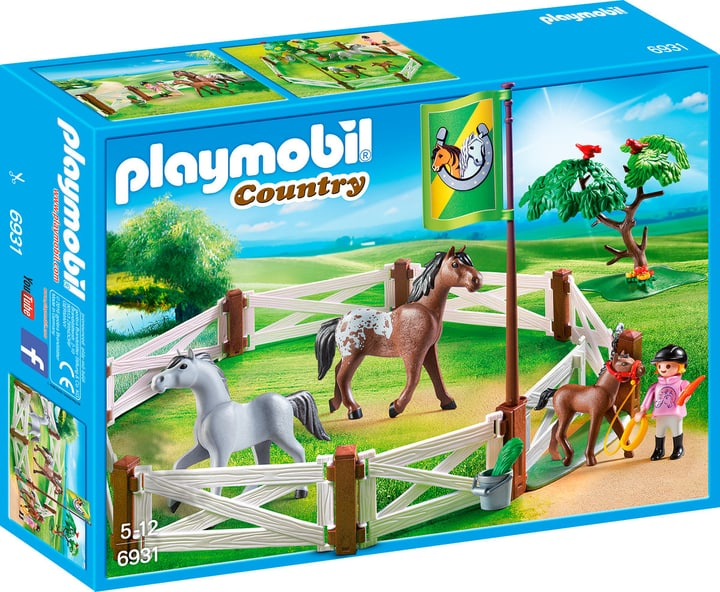 Playmobil Country Recinto dei cavalli 6931 746085400000 N. figura 1