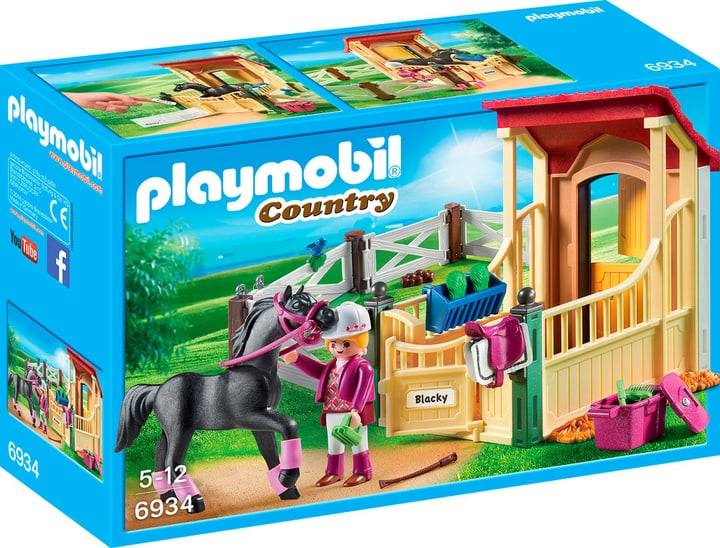 Playmobil Country Box avec cavalière et pur-sang Arabe 3934 746085700000 Photo no. 1