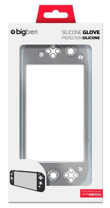 Bigben Nintendo Switch Silikon-Schutzhülle schwarz/grau Bigben 785300126955 Bild Nr. 1