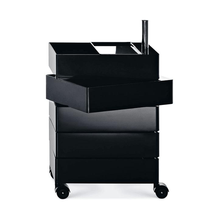 360 ° Container Magis 364153500020 Grösse B: 46.0 cm x T: 35.0 cm x H: 72.0 cm Farbe Schwarz Bild Nr. 1