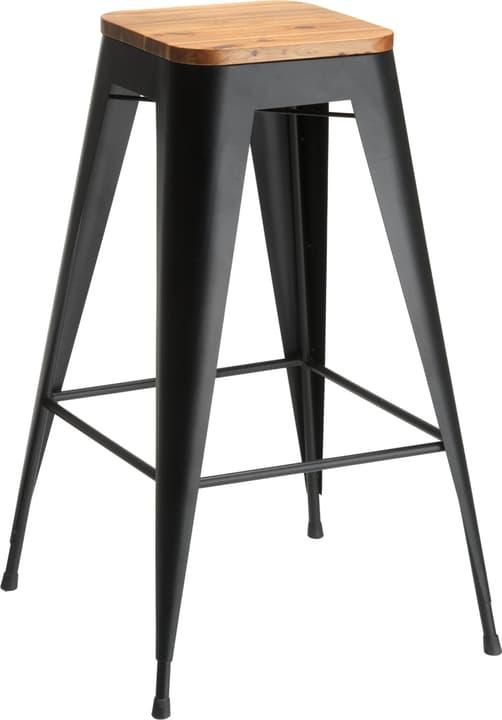 RIGO Tabouret de bar 402353700020 Dimensions L: 30.5 cm x P: 30.5 cm x H: 75.0 cm Couleur Noir Photo no. 1
