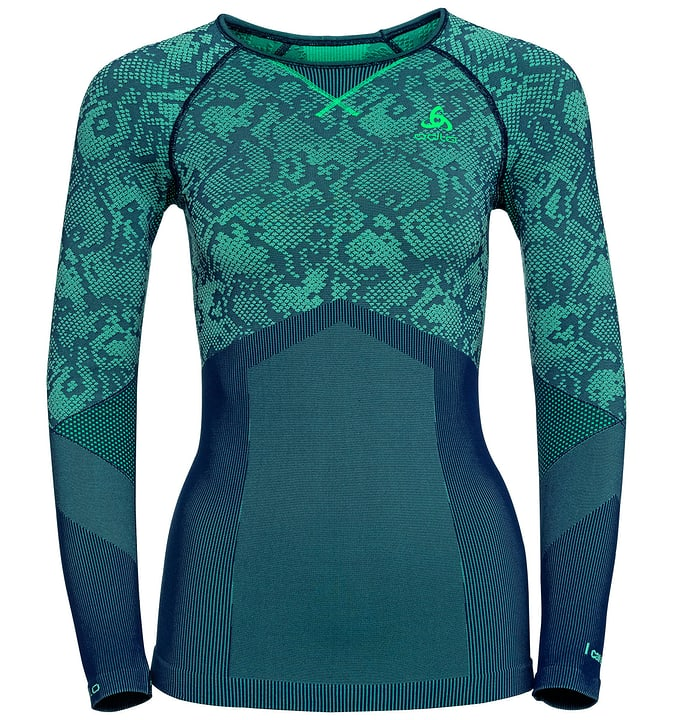Blackcomb Evolution Warm T-shirt à manches longues pour femme Odlo 477072100215 Couleur émeraude Taille XS Photo no. 1