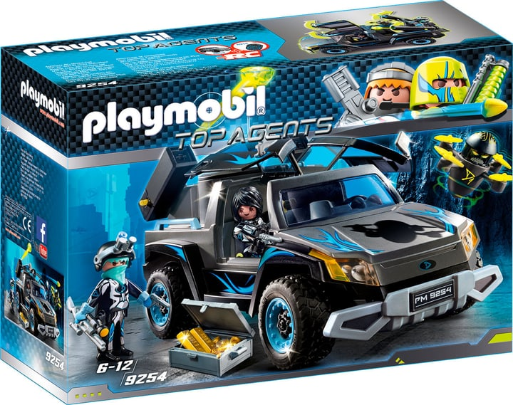 Playmobil Top Agent 4x4 des agents du Dr. Drone 9254 746087100000 Photo no. 1