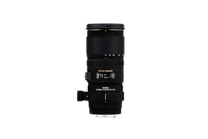 70-200mm/2,8 EX DG OS HSM per Canon obiettivo Sigma 785300126175 N. figura 1