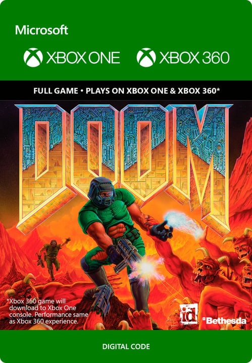 Xbox One - Doom Digitale (ESD) 785300136715 N. figura 1