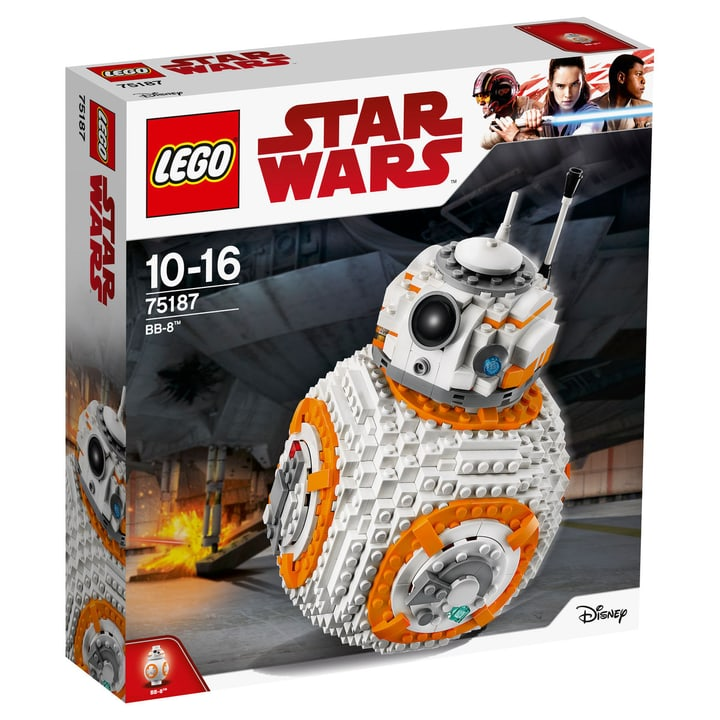 LEGO Star Wars BB-8 75187 744548200000 N. figura 1