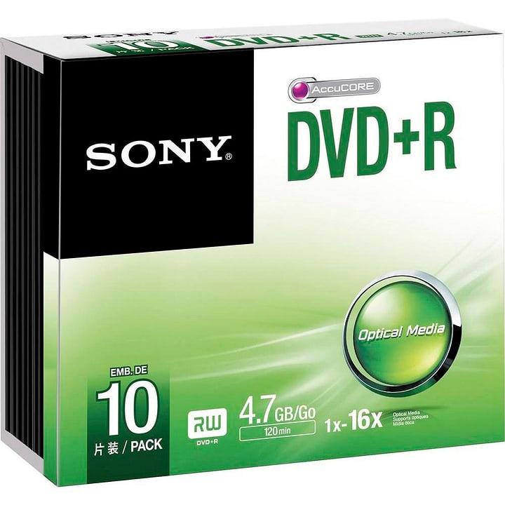 DVD+R 4.7GB, 10er Pack DVD masterizzabili Sony 787240300000 N. figura 1