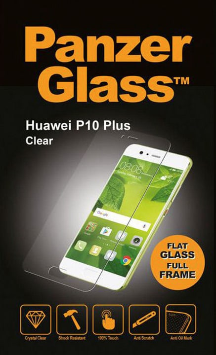 Flat Clear Huawei P10 Plus Smartphone Zubehör Panzerglass 785300134517 Photo no. 1