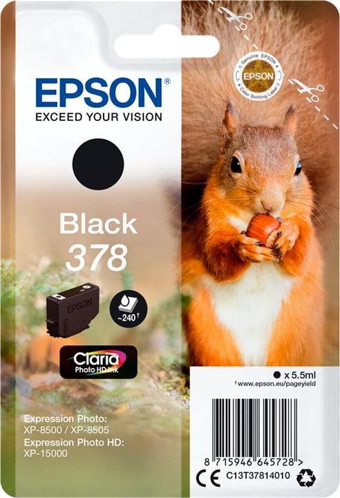 Tintenpatrone 378 schwarz Tintenpatrone Epson 798548600000 Bild Nr. 1