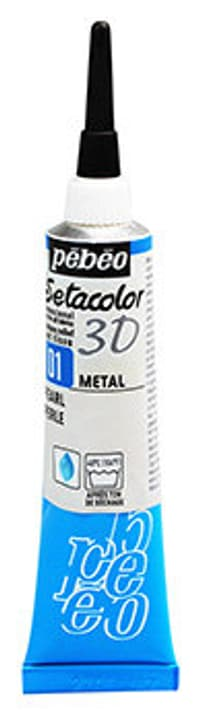 Sétacolor 3D 20ml Metal Pebeo 665469000000 Colore Perla N. figura 1
