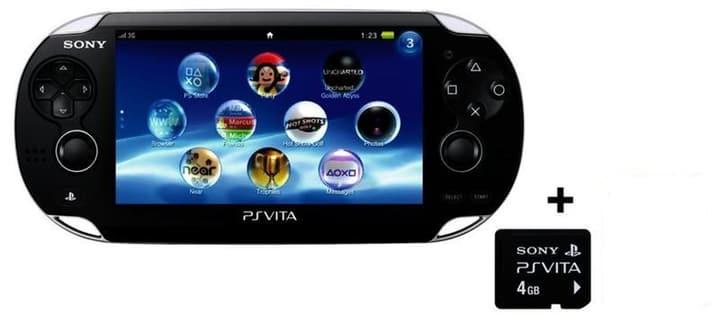 PS Vita Wi-Fi inkl. 8 GB Memory Card & Adventure Mega Pack Sony 78542410000014 Bild Nr. 1