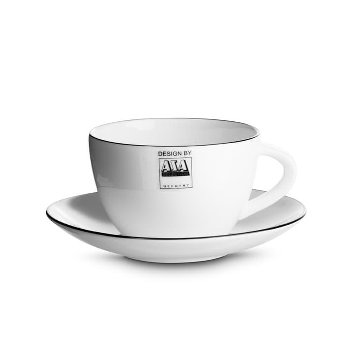 LIGNE NOIR Tazza da caffè con piattino ASA 393093200000 N. figura 1