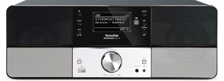 DigitRadio 360 IR - Noir Radio DAB+ Technisat 785300139554 Photo no. 1