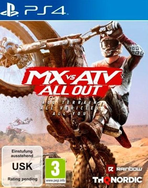 PS4 - MX vs. ATV All Out F Fisico (Box) 785300131996 N. figura 1