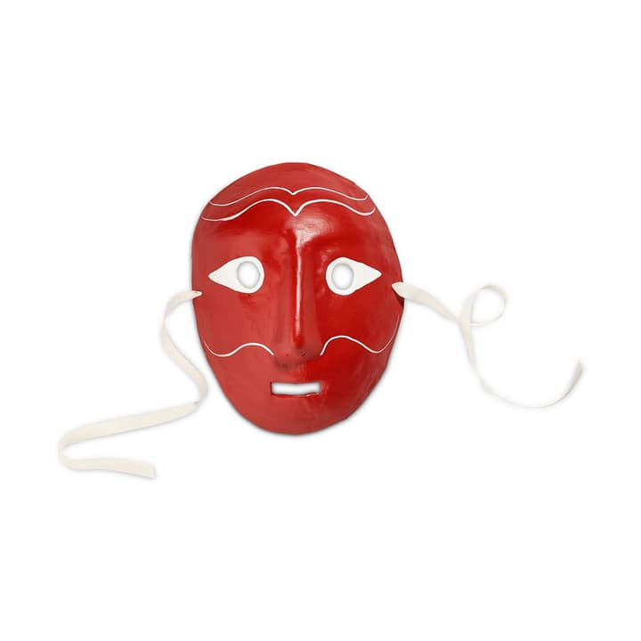MOOD MASK masque HAY 396111600000 Dimensions L: 20.0 cm x P: 10.0 cm x H: 25.0 cm Couleur Rouge Photo no. 1