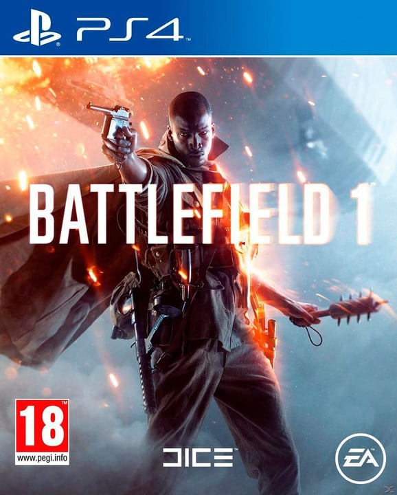 PS4 - Battlefield 1 Physique (Box) 785300121111 Photo no. 1