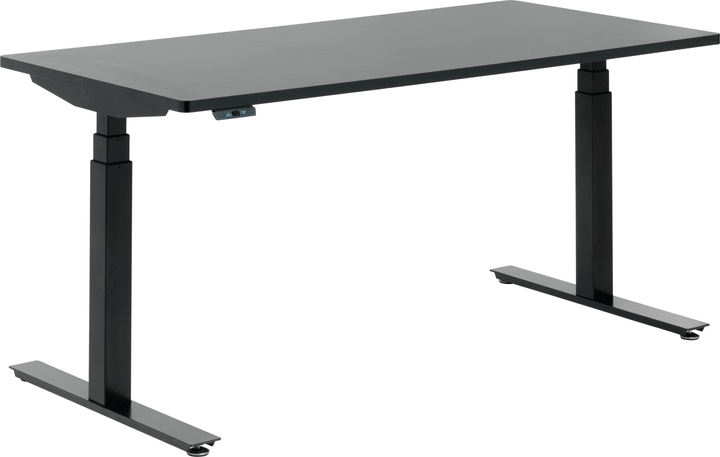 FLEXCUBE Bureau 401836400000 Dimensions L: 160.0 cm x P: 80.0 cm x H: 75.0 cm Couleur Noir Photo no. 1