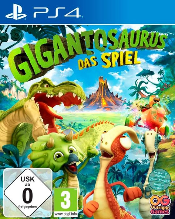 Gigantosaurus: Das Videospiel [PS4] (D/F/I) Box 785300150602 Photo no. 1