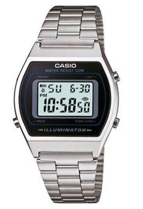 B640WD-1AVEF Retro silver Armbanduhr Casio Collection 76081290000016 Bild Nr. 1