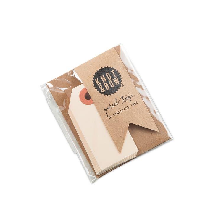KNOT & BOW étiquettes-cadeaux 386143300000 Dimensions L: 7.0 cm x P: 3.5 cm x H: 0.1 cm Couleur Ecru Photo no. 1