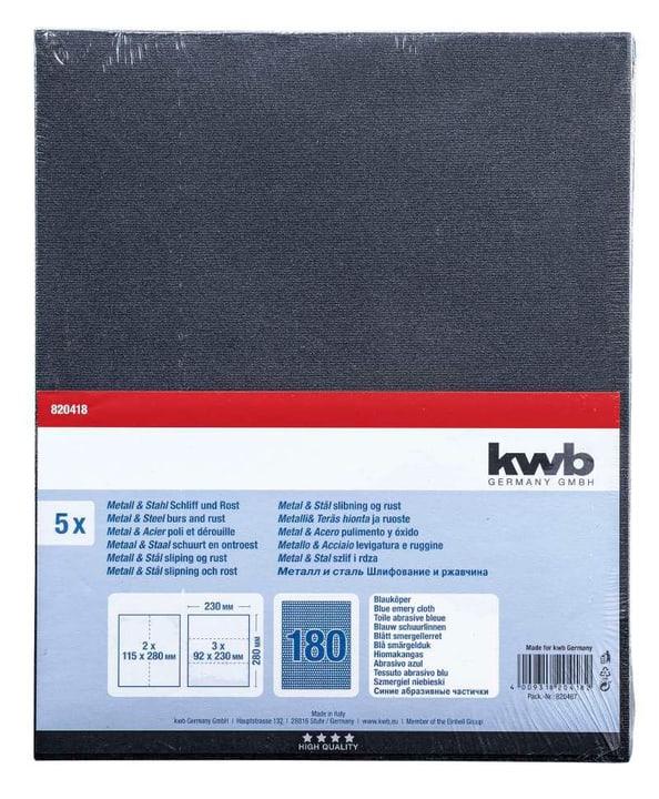 Schleifbogen Blauköper K 180, 5 Stk. kwb 610552900000 Bild Nr. 1