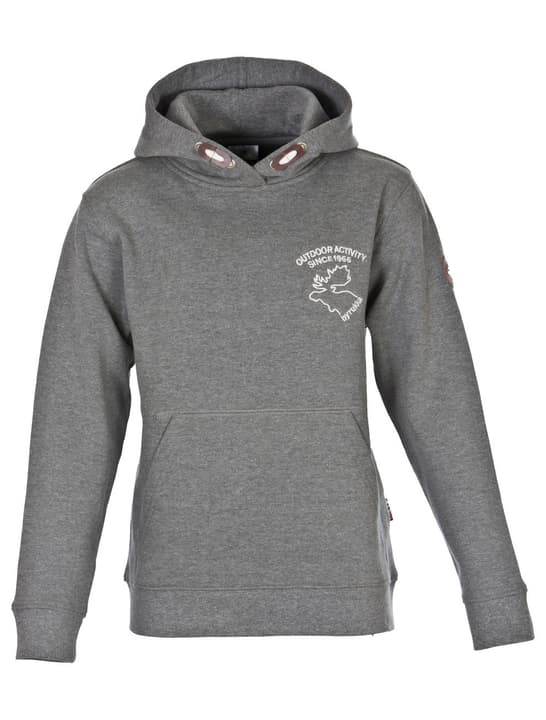 Hooded Sweater Pull pour enfant Rukka 464593716480 Couleur gris Taille 164 Photo no. 1