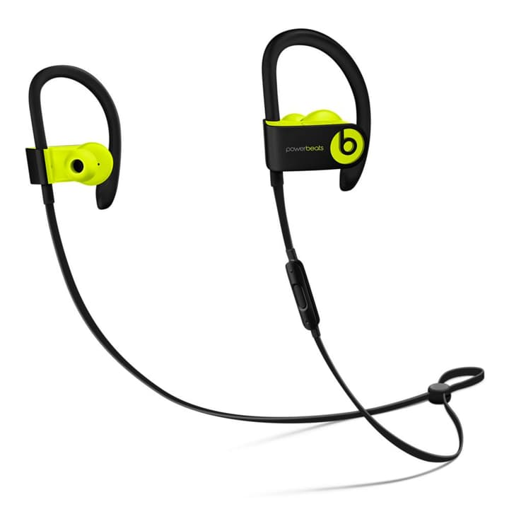 Beats Powerbeats3 Wireless Earphones - Shock Yellow Beats By Dr. Dre 785300130788 Photo no. 1