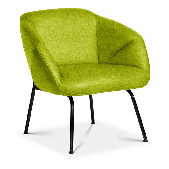 FOILD Poltrona Edition Interio 360441307060 Dimensioni L: 74.0 cm x P: 66.0 cm x A: 76.0 cm Colore Verde N. figura 1