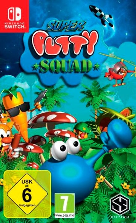 Switch - Super Putty Squad (D) Physisch (Box) 785300131544 Bild Nr. 1