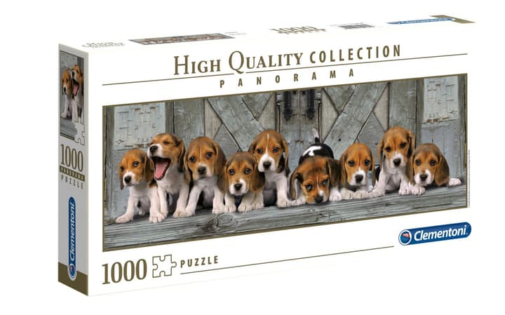 Clemantoni Puzzle Panorama Hunde 1000Tlg 746999700000 N. figura 1