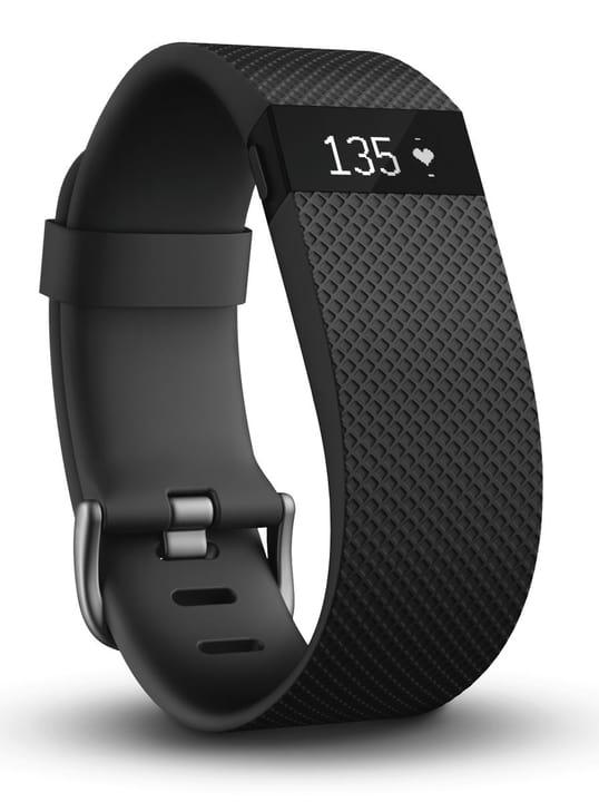 Charge HR Activity Tracker large noir Fitbit 797855600000 Photo no. 1