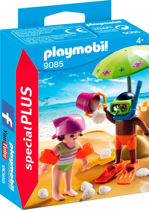 Playmobil Special Plus Bambini in spiaggia 9085 746075100000 N. figura 1