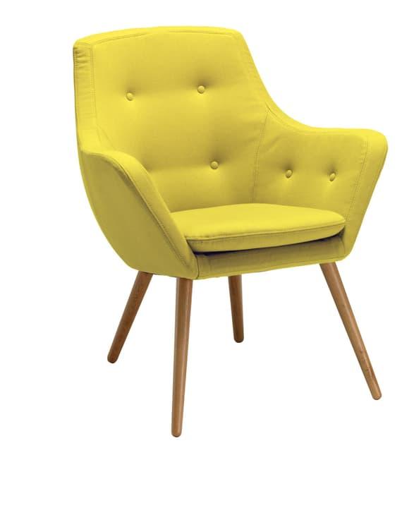 FLORIN Sessel 402441007050 Grösse B: 73.0 cm x T: 70.0 cm x H: 82.0 cm Farbe Gelb Bild Nr. 1