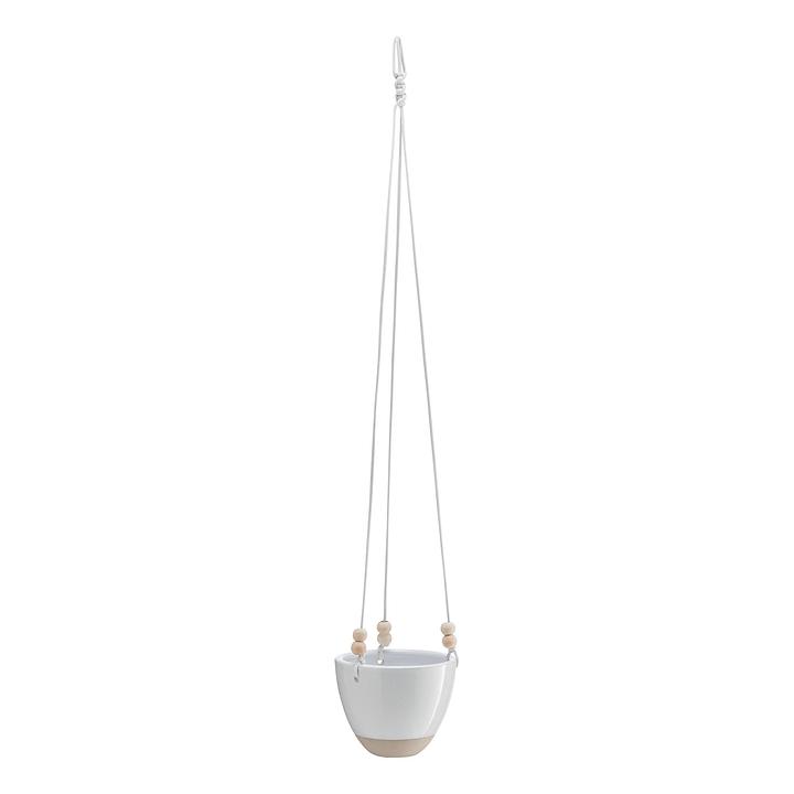 OPHELIA Cache-pot 382106200000 Dimensions H: 12.0 cm Couleur Blanc Photo no. 1