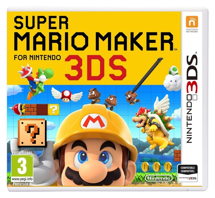 3DS - Super Mario Maker Fisico (Box) 785300121417 N. figura 1