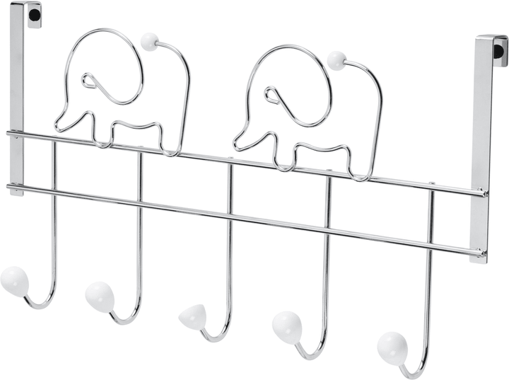 Appendiabiti per porta Elefante Do it + Garden 675919500000 N. figura 1