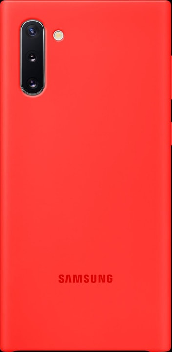 Silicone Cover red Coque Samsung 785300146424 Photo no. 1