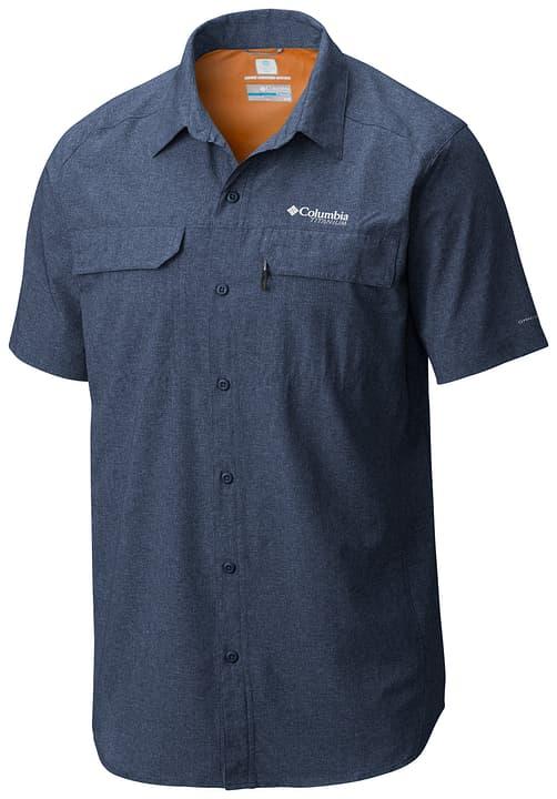 Irico Chemise à manches courtes pour homme Columbia 462774300343 Couleur bleu marine Taille S Photo no. 1