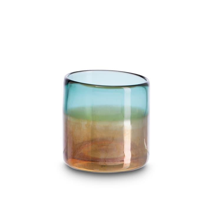 SAILA Porte-bougies chauffe-plat 396078500000 Dimensions L: 8.0 cm x P: 8.0 cm x H: 8.0 cm Couleur Turquoise Photo no. 1