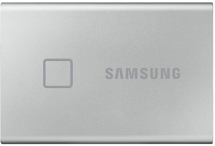 Samsung SSD T7 Touch portable 2TB argento SSD esterno Samsung 785300150218 N. figura 1