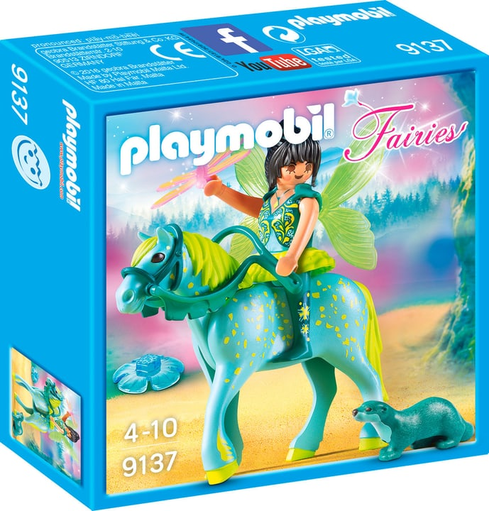 Playmobil Fairies Fée avec cheval 9137 746078300000 Photo no. 1