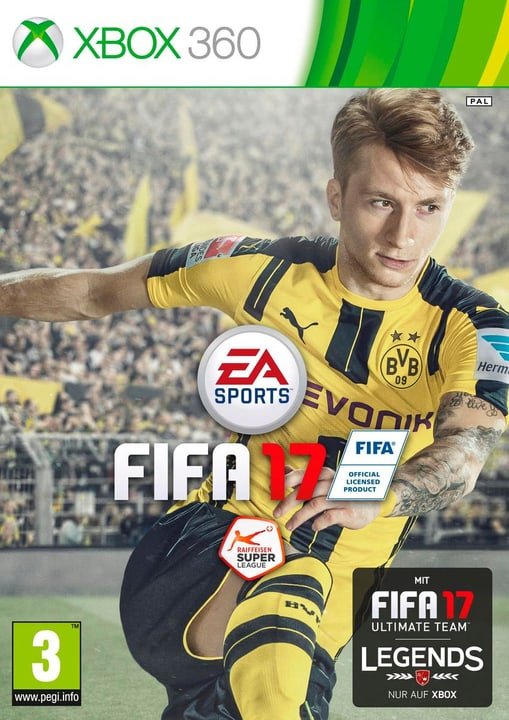 Xbox 360 - FIFA 17 Box 785300121177 N. figura 1