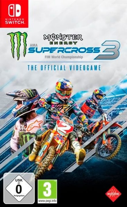 NSW - Monster Energy Supercross 3 Box 785300150272 Photo no. 1
