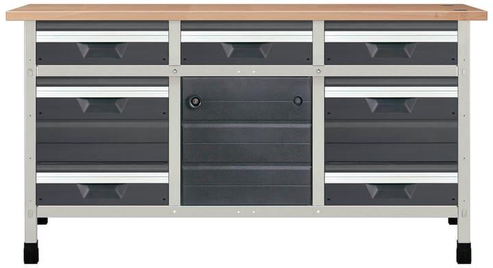 Werkbank No. 3 1610 x 650 x 860 mm 8077 Wolfcraft 601458200000 Bild Nr. 1
