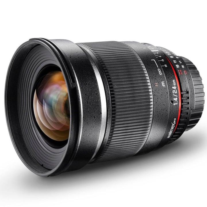 Walimex Pro - 24mm f/1,4 IF Objectif AE pour Nikon Obiettivo Walimex 785300123451 N. figura 1