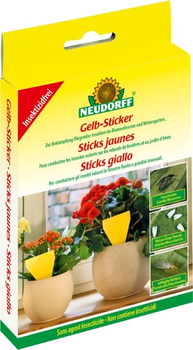 Gelb-Sticker, 10 Stück Neudorff 658504900000 Bild Nr. 1