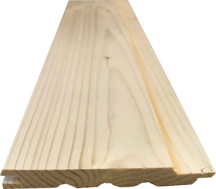 Täfer Schattenfalz A unbehandelt 10 Stk. HolzZollhaus 641507024000 Länge L: 2400.0 mm Dimensionen 12.5 x 90 mm Bild Nr. 1